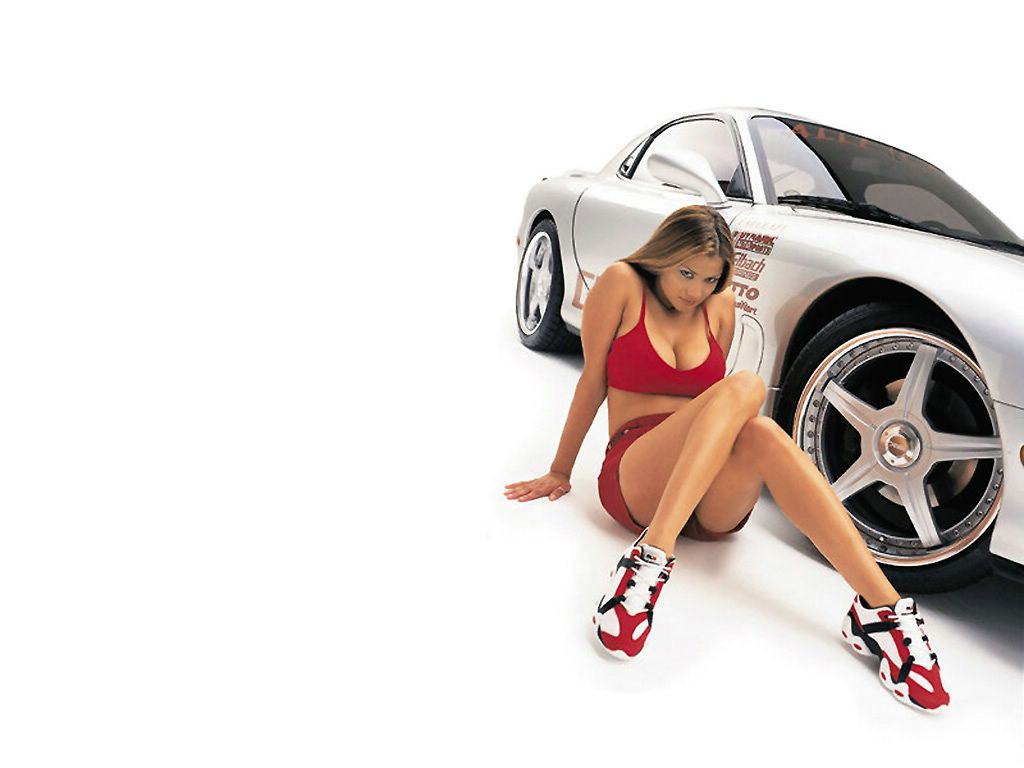 170 hot girls and cars wallpapers 104