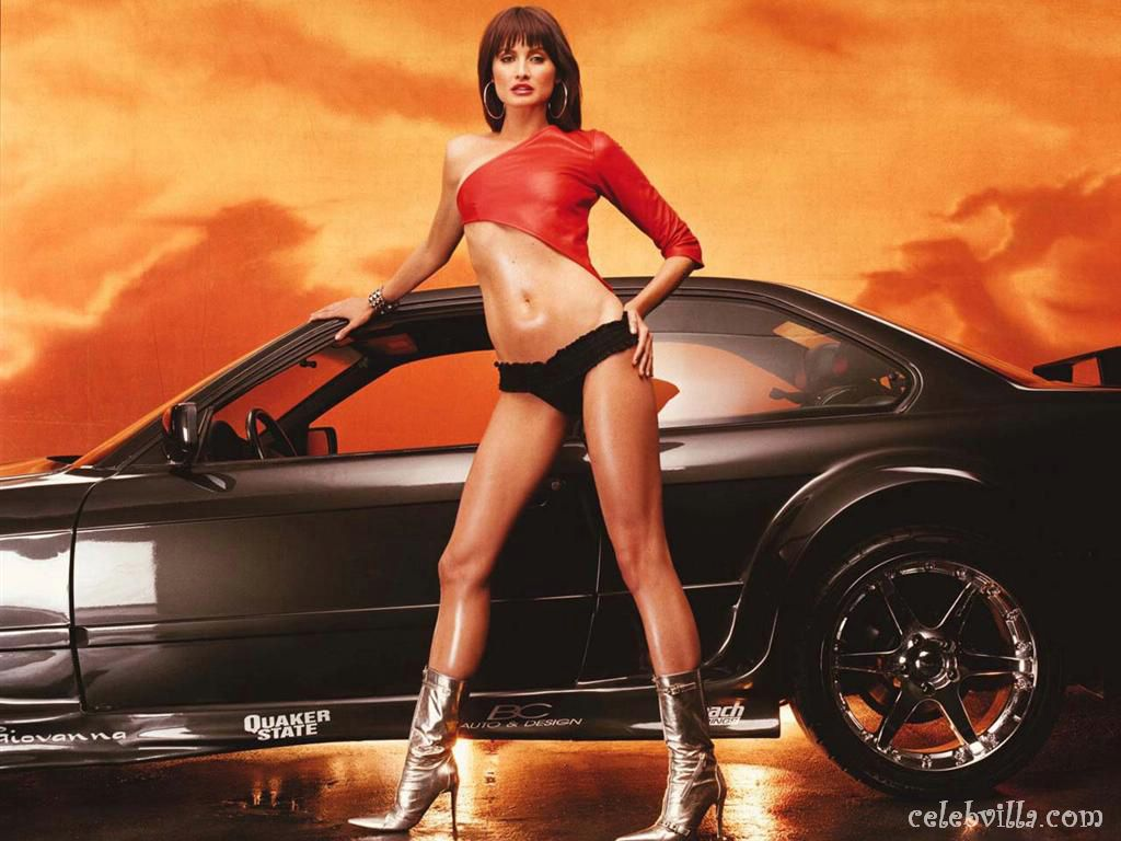 170 hot girls and cars wallpapers 106