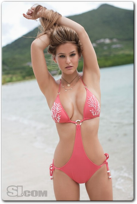 Bar Refaeli - Swimsuit by Delfina - 2009 Sports Illustrated Swimsuit Photo Gallery 001