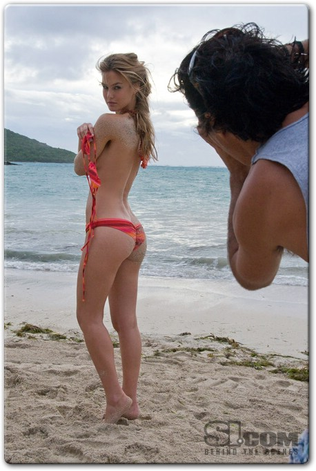 Bar Refaeli - Swimsuit by Luli Fama - 2009 Sports Illustrated Swimsuit Photo Gallery -004