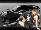 170 hot girls and cars wallpapers 29