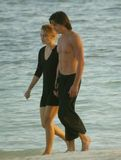 Keira Knightley Beach SeeThrough picture 007