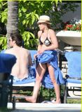 Hilary Duff  in BIKINI 001