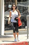 Kim Kardashian Tank Top and Spandex 1