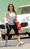 Kim Kardashian Tank Top and Spandex 2