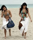 Kim Kardashian in Miami Beach with her Sister 10