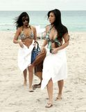 Kim Kardashian in Miami Beach with her Sister 37
